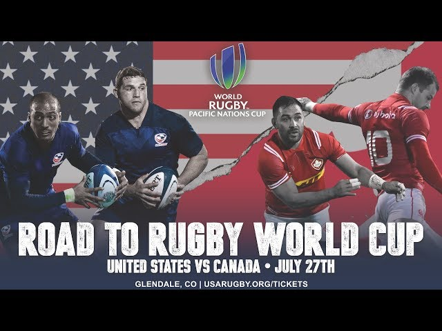 United States vs Canada | Pacific Nations Cup
