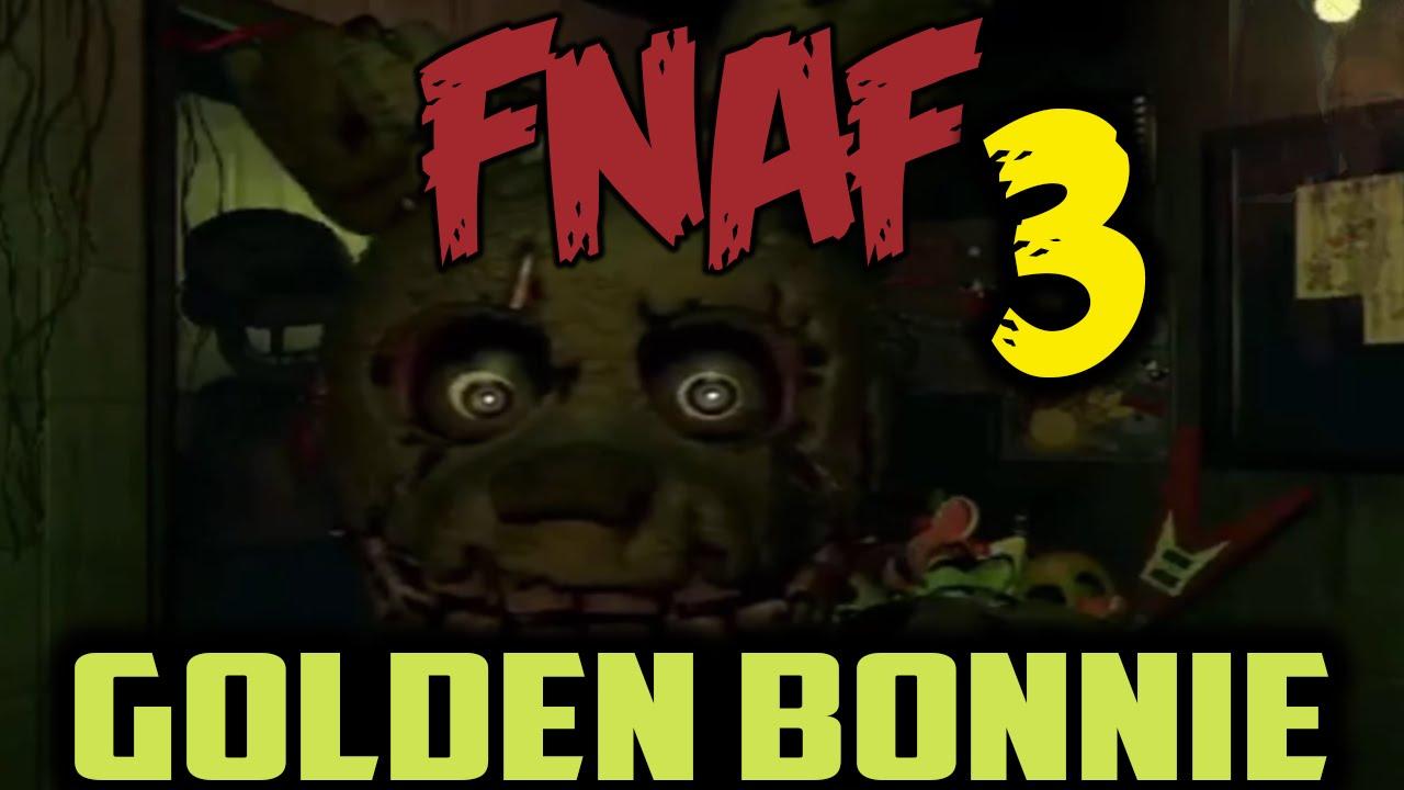 Golden Bonnie Or Hybrid Animatronic Five Nights At Freddys 3