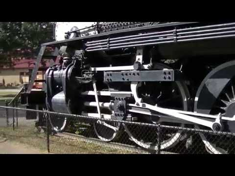 Steam Locamotive #735 @ Minot ND - zeketheantiquefreak