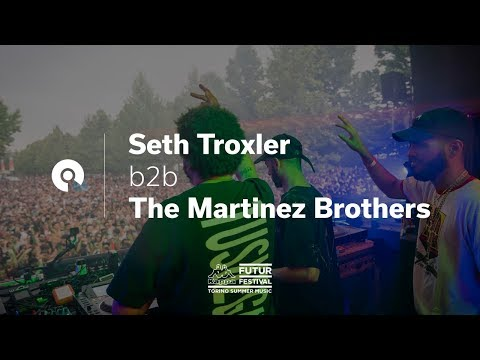 Seth Troxler b2b The Martinez Brothers @ Kappa FuturFestival 2017 (BE-AT.TV)