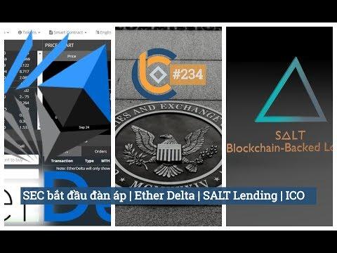 #234 - SEC bắt đầu đàn áp | Ether Delta | SALT Lending | ICO