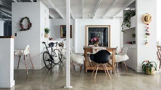 Interior Design — A Floral Designer's Cool Creative Loft
