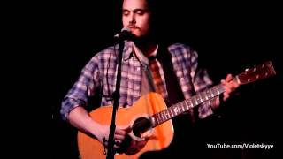 "John Mayer LIVE ""Fool To Love You""/ ""Up From The Skies"" Hotel Cafe, Los Angeles"