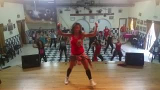 Não Papo Grupos- David Carreira- Zumba Fitness -  coreografia- Sónia Vasconcelos