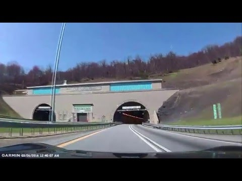 Pennsylvania Turnpike (Interstate 76 West), heading toward Willow Hill, PA.