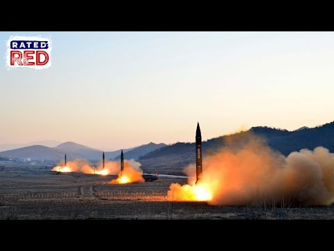 North Korea Fires Missiles in Practice Attack on U.S. Bases in Japan