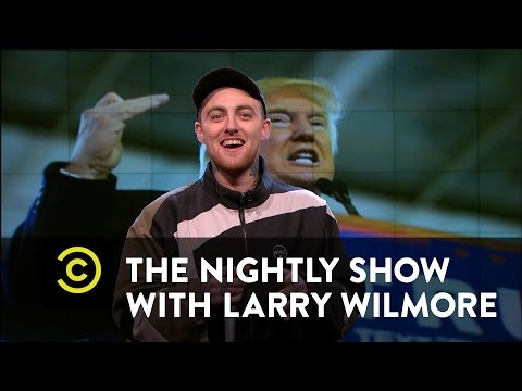The Nightly Show  Mac Miller Unloads on Donald Trump