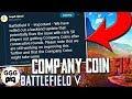 COMPANY COIN BUG FIX NOW LIVE (BF5 Rank 50 Glitch) - Battlefield 5