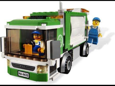 Lego city camion ordures dessin anim pour les enfants - Dessin de lego city ...