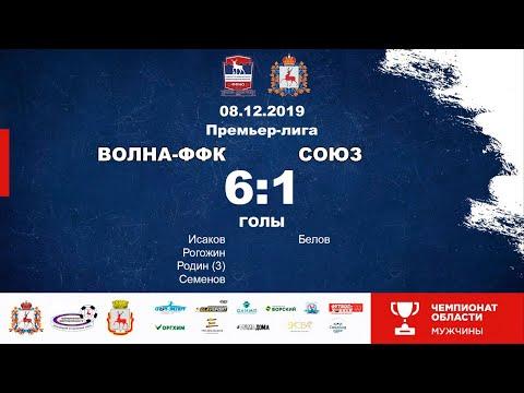 Волна-ФФК (Нижний Новгород) - Союз (Шахунья) 6-1