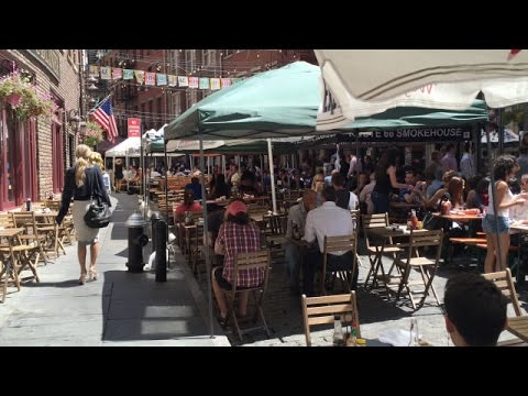 Stone Street Restaurants - Fun Places To Eat Near Wall Street