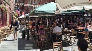 Stone Street Restaurants Fun Places To Eat Near Wall Street