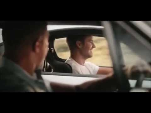 Emocionante Homenagem a Paul Walker - Final de Velozes e Furiosos 7