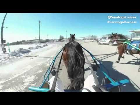 Saratoga Casino and Raceway | Helmet Cam