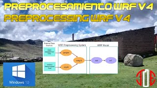 Download Preprocesamiento WRF V4 - Win 10 / Preprocessing WRF V4 - Win 10