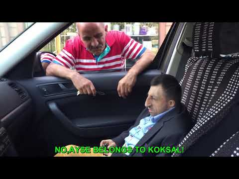 KOKSAL BABA TRAPPED IN CAR(ENGLISH SUB.)