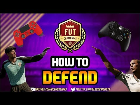 FIFA 18  HOW TO DEFEND!  HOW TO STOP CONCEDING IN FIFA!  Defending Tutorial  Tips & Tricks