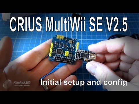 (4/7) MultiWii modes - radio, connection and software s ...