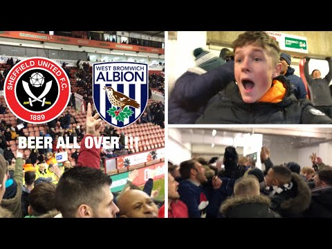 TITLE RACE *VLOG* Sheffield United vs West Brom