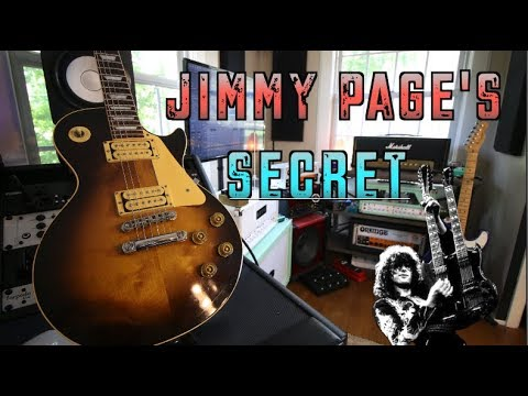 The Secret To Sounding Like Jimmy Page