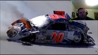 NASCAR Biggest Crashes In History Part 1 Reaction!!!
