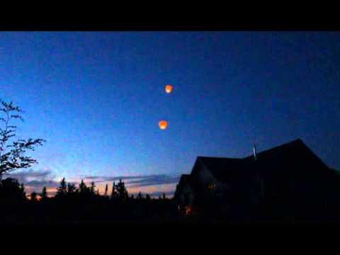 Sky Lanterns - KG Fireworks Superior WI