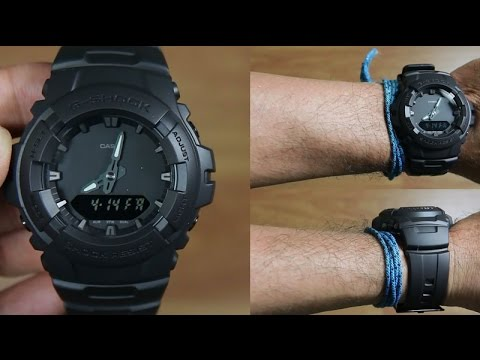 CASIO G-SHOCK G-100BB-1A SPECIAL BLACK - UNBOXING
