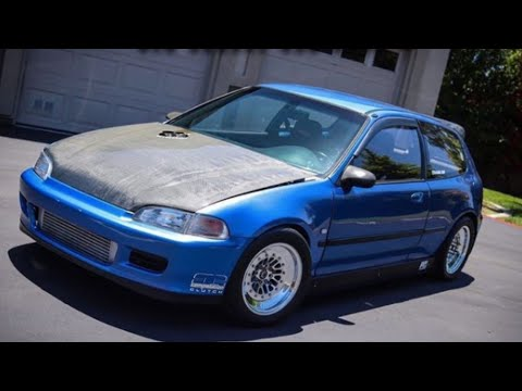 1993 Honda Civic DX 700 HP: Blue Beast