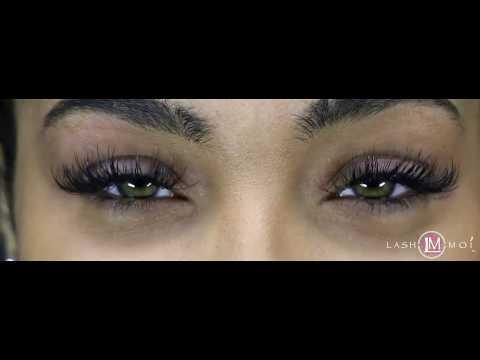 ac7aa440a3e Lash Moi Xtreme Lashes: Client- Jasmine - YouTube