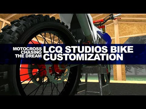 LCQ Studios Motocross Game Bike Customization Out Now!