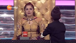 Dance Jodi Dance Juniors Season 1 | Ep 26 | Feb 17, 2019 | Dharshan Nowfal - Performance | Zee Tamil