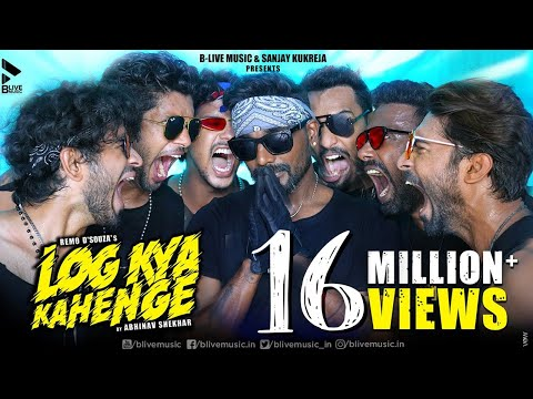 New Hindi Song 2020   Log Kya Kahenge   Official Video   Remo D'Souza   Abhinav Shekhar