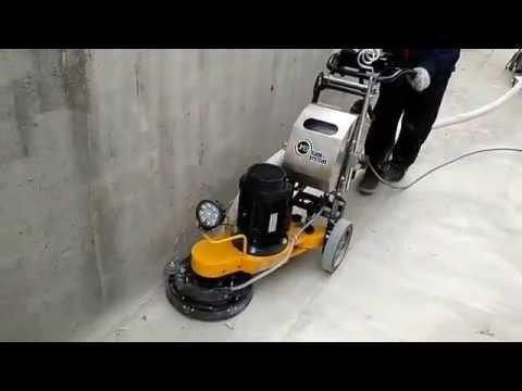 S320 concrete floor grinder for edge grinding polishing with vacuum