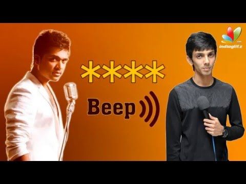 'Beep Song' : From Silambarasan Expected But Not Anirudh | Controversial Song