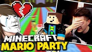 """GLP HAT MICH BETROGEN & """"NO LOOK"""" WÜRFELGOTT! ✪ Minecraft Mario Party mit GommeHD"""