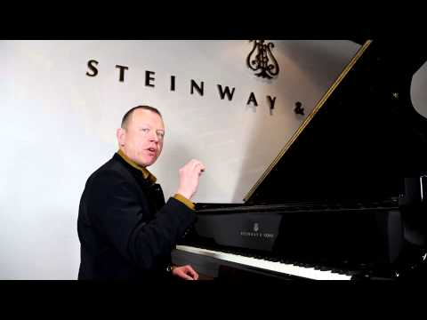 Piano masterclass on double notes, from Steinway Hall London