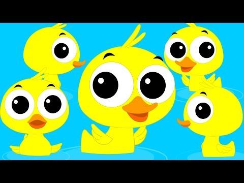 Duck Song   Original Song   Nursery Rhymes   Children's Rhymes   Kid's Videos