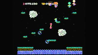 CGR Undertow - BALLOON FIGHT for NES Video Game Review