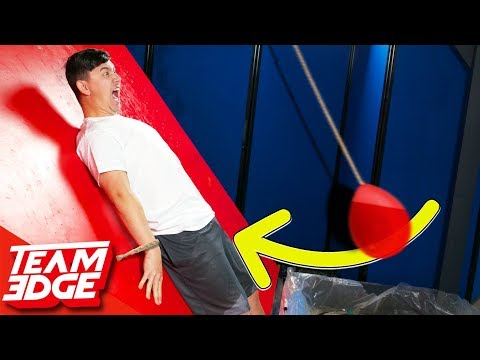 Don't Let the Giant Water Balloon Hit You Below the Belt!