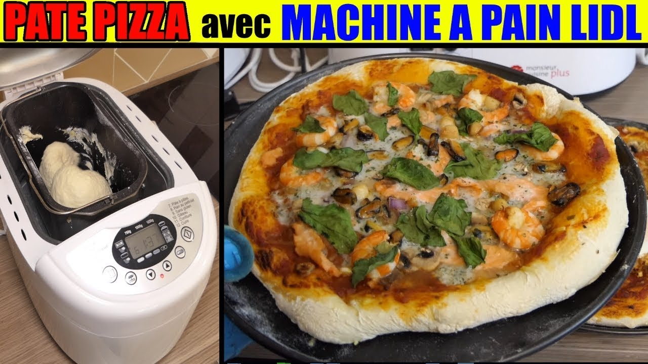 Pate Pizza Machine Pain Lidl Recette Silvercrest Pizza Dough Bread