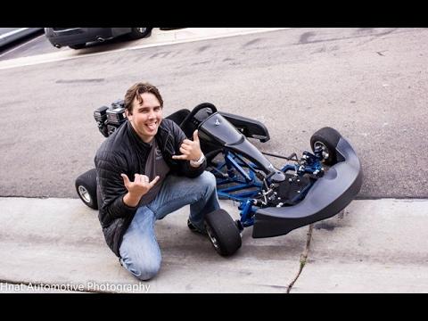 Will Romps the GO KART + RC Car Hobby Shop Trip!