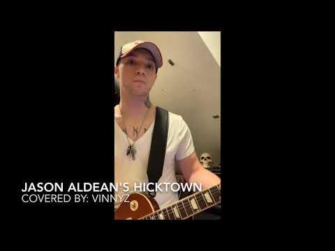 Hicktown By Jason Aldean (guitar Cover)