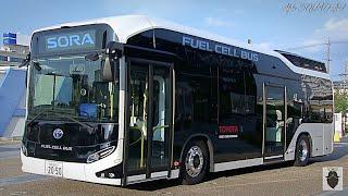 Toyota BUS – Toyota SORA 2019 / Toyota SORA Fuel Cell Bus | Toyota HYDROGEN BUS