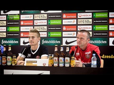 8. Spieltag   SGD - SSV   Pressekonferenz vor dem Spiel