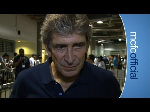 City v South China: Pellegrini reaction