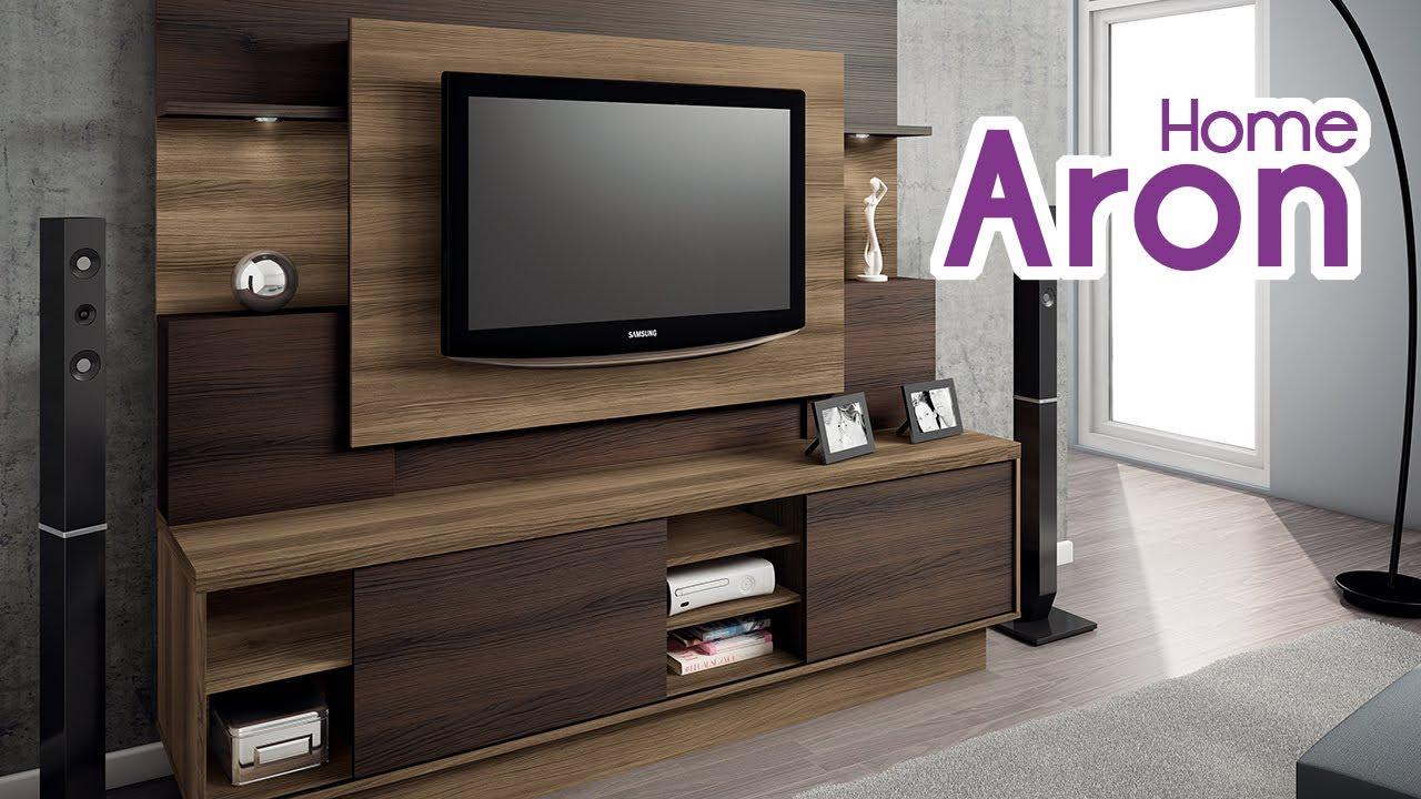 Home Theater Aron Wood  Linea Brasil  YouTube