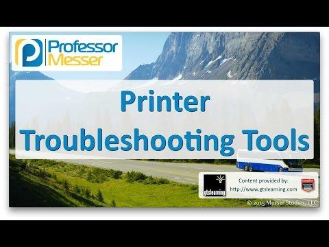 Descargar Video Printer Troubleshooting Tools - CompTIA A+ 220-901 - 4.6