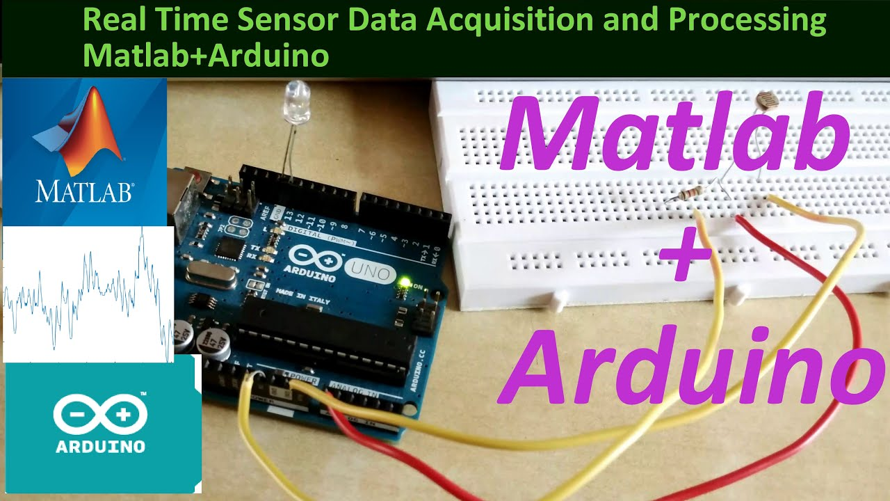 Arduino matlab real time
