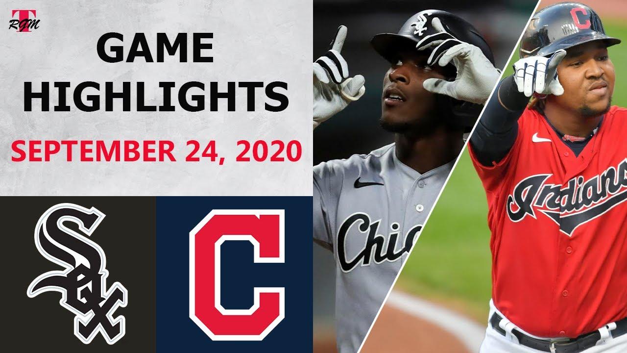Chicago White Sox vs. Cleveland Indians Highlights | September 24, 2020 (Keuchel vs. Plesac)