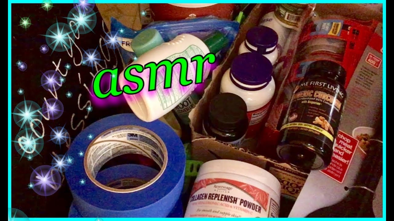 asmr shopping haul